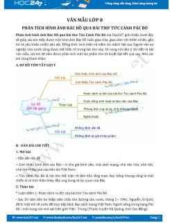 Phân tích hình ảnh Bác Hồ qua bài thơ Tức Cảnh Pác Bó