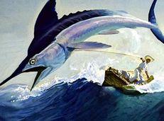 Soạn văn 12 Ông già và biển cả tóm tắt