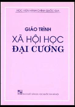 Giáo trình Xã hội học đại cương - ĐH Quốc gia Hà Nội