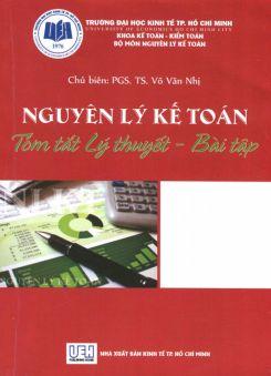 Ebook Nguyên lý kế toán: Tóm tắt lý thuyết - bài tập