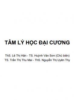 Giáo trình Tâm lý học đại cương - ThS. Lê Thị Hân