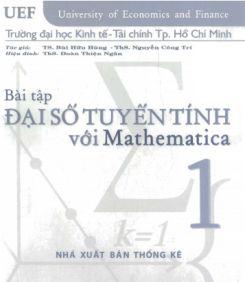 Ebook Bài tập Đại số tuyến tính với Mathematica