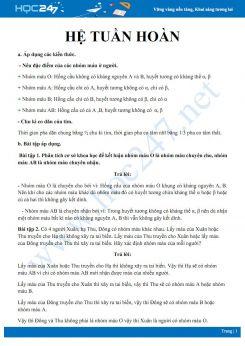 Phương pháp giải một số dạng bài tập về hệ Tuần hoàn Sinh học 8