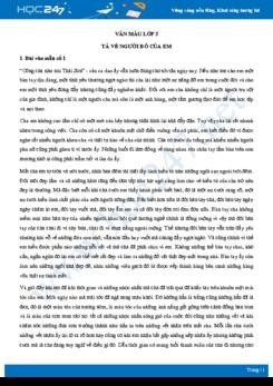 Tả về người bố của em - Văn mẫu lớp 5