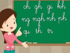 Một số quy tắc và cách học ghép vần Tiếng Việt 1